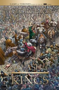 [The cover for George R.R. Martin's A Clash Of Kings #3 (Cover A Miller)]
