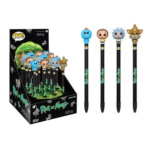 [Rick & Morty: Pen Toppers (Product Image)]