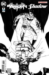 [Batman/The Shadow #1 (Coloring Book Variant Edition) (Product Image)]