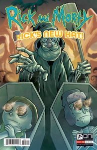 [Rick & Morty: Rick's New Hat #3 (Cover A Stresing) (Product Image)]