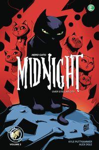 [Hero Cats: Midnight Over Stellar City: Volume 2 (Product Image)]