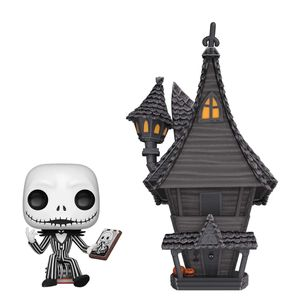 [The Nightmare Before Christmas: Pop! Vinyl Town: Jack With Jack's House (Product Image)]