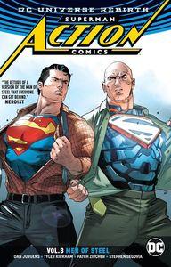 [Superman: Action Comics: Volume 3: Men Of Steel (Rebirth) (Product Image)]