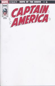 [Captain America #695 (Blank Variant) (Legacy) (Product Image)]
