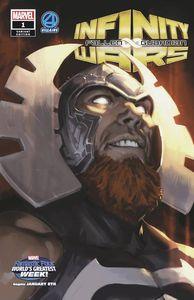 [Infinity Wars: Fallen Guardian #1 (Djurdjevic FF Villains Variant) (Product Image)]