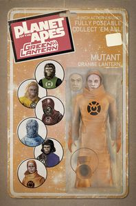[Planet Of Apes/Green Lantern #6 (Unlock Vintage Figure Variant) (Product Image)]