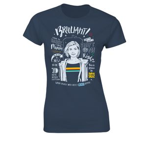 [Doctor Who: Women's Fit T-Shirt: This Is Doctor Thirteen (Product Image)]
