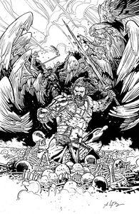 [Skybound X #2 (Cover D Black & White Bressan Variant) (Product Image)]
