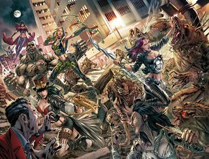 [Van Helsing Vs League Monsters #6 (Cover A Vitorino) (Product Image)]