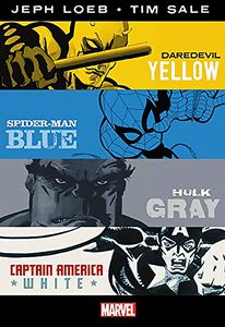 [Jeph Loeb/Tim Sale: Yellow Blue Gray & White: Omnibus (Hardcover) (Product Image)]