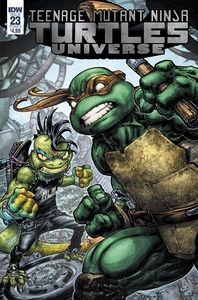 [Teenage Mutant Ninja Turtles: Universe #23 (Cover A Williams II) (Product Image)]