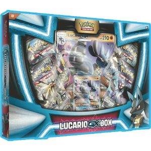 [Pokemon: Booster Box: Lucario-GX (Product Image)]