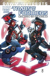 [Transformers: Robots In Disguise #32 (Subscription Variant) (Product Image)]