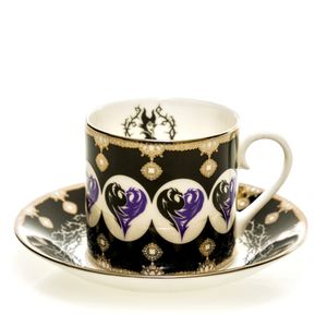[Disney: Cup & Saucer: Maleficent (Product Image)]