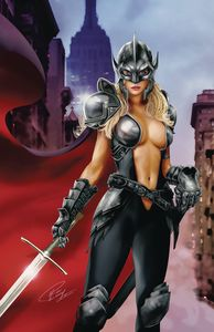 [Belle Vs Black Knight: One Shot #1 (Cover D Leary Jr) (Product Image)]