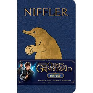 [Fantastic Beasts: The Crimes Of Grindelwald: Ruled Pocket Journal: Niffler (Hardcover) (Product Image)]
