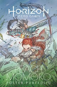 [The Official Horizon Zero Dawn Peach Momoko Poster Portfolio (Product Image)]