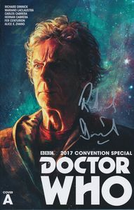 [Doctor Who: The Last Action Figure (SDCC 2017 Special Cover A Signed) (Product Image)]