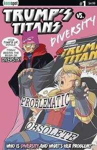 [Trumps Titans Vs Diversity #1 (Main Cover) (Product Image)]