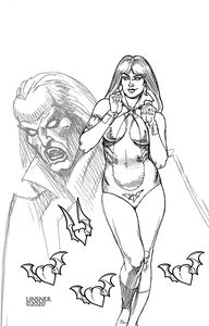 [Vampirella: Valentines Special (One Shot Linsner Black & White Virgin Variant) (Product Image)]