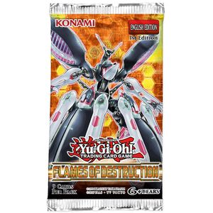 [Yu-Gi-Oh: Booster Pack: Flames Of Destruction (1st Edition) (Product Image)]
