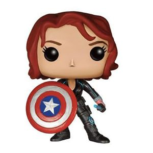[Avengers: Age Of Ultron: Pop! Vinyl Figure: Black Widow With Cap's Shield (Product Image)]