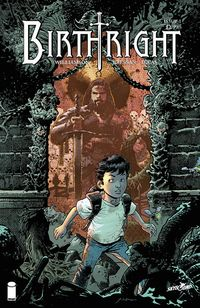 [The cover for Birthright #1]