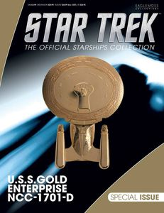 [Star Trek Starships Special #23: Gold USS Enterprise (Product Image)]