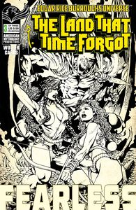 [Land That Time Forgot: Fearless #3 (Cover B Limited Black & White) (Product Image)]