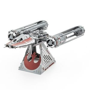 [Star Wars: The Rise Of Skywalker: Metal Earth Model Kit: Zorrii's Y-Wing Fighter (Product Image)]