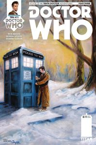 [Doctor Who: 10th Doctor: Year Three #11 (Cover C Carr (Seasons)) (Product Image)]
