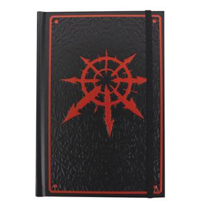 [Warhammer 40K: A5 Notebook: Chaos (Product Image)]