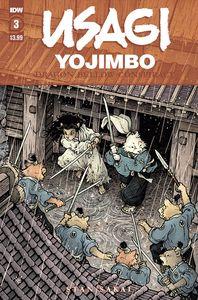 [Usagi Yojimbo: Dragon Bellow Conspiracy #3 (Product Image)]