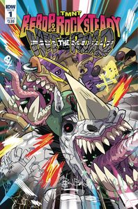 [TMNT: Bebop & Rocksteady Hit The Road #1 (Cover B Bates) (Product Image)]