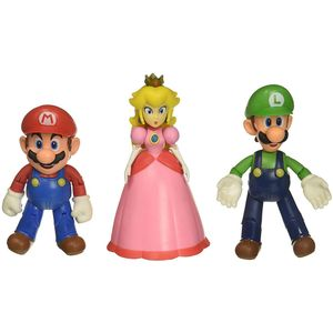[World Of Nintendo: Action Figure 3-Pack: Mushroom Kingdom (Product Image)]