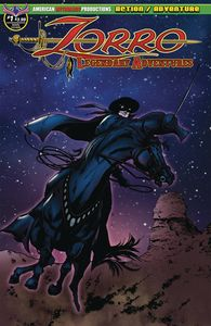 [Zorro: Legendary Adventures #1 (Main Cover) (Product Image)]