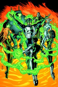 [Green Lantern; Circle Of Fire (Product Image)]