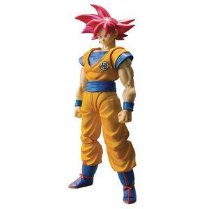 [Dragon Ball: SH Figuarts Action Figure: Super Saiyan God Son Goku (Product Image)]