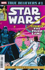 [True Believers: Star Wars: Vader Vs Leia #1 (Product Image)]