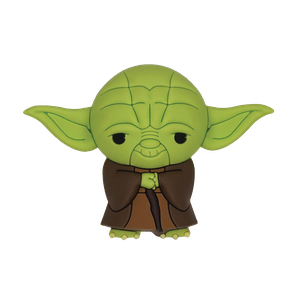 [Star Wars: 3D Foam Magnet: Yoda (Product Image)]