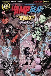 [Vampblade: Season Two #11 (Cover A Winston Young) (Product Image)]