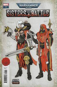 [Warhammer 40k: Sisters Of Battle #3 (Salazar Design Variant) (Product Image)]
