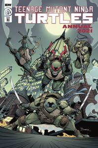 [Teenage Mutant Ninja Turtles: Annual 2021 (Max Dunbar Variant) (Product Image)]