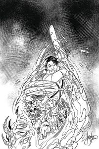 [Death To The Army Of Darkness #5 (Andolfo Black & White Virgin Variant) (Product Image)]
