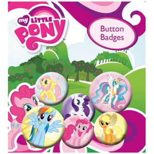 [My Little Pony: Badge Pack: Characters (Product Image)]