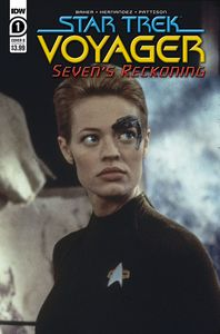 [Star Trek: Voyager: Sevens Reckoning #1 (Cover B Photo) (Product Image)]