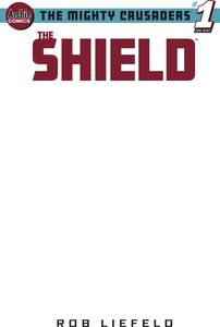 [Mighty Crusaders: The Shield (Cover H Blank Variant) (One Shot) (Product Image)]
