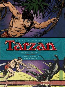 [Tarzan Dailies: Volume 3: Tarzan Versus The Nazis (Hardcover) (Product Image)]