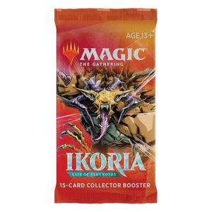 [Magic The Gathering: Collectors Booster Pack: Ikoria Lair Of Behemoths (Product Image)]