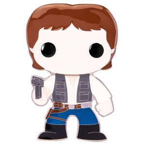 [Star Wars: Loungefly Large Enamel Pop! Pin: Han Solo (Product Image)]